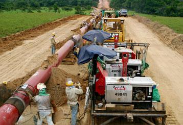 Construcción de Oleoductos y Gasoductos